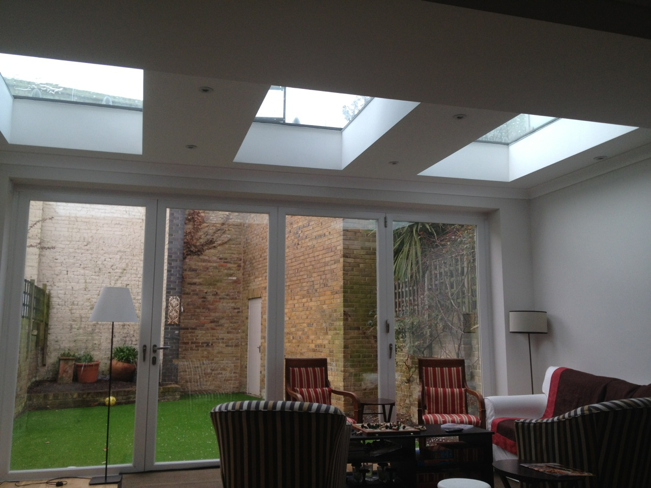 terrace rear extention london style building residential